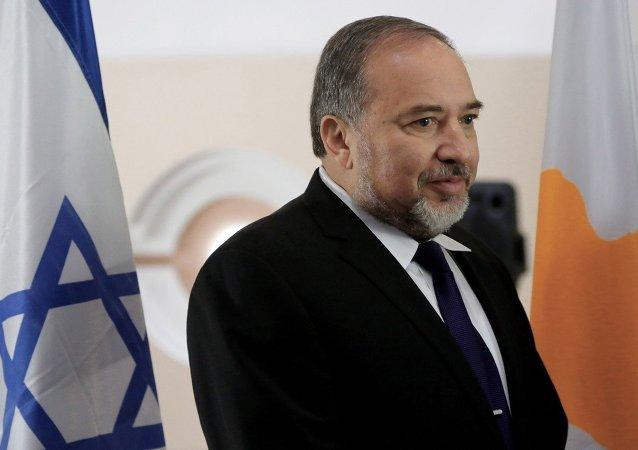Izraelský ministr obrany Avigdor Liberman