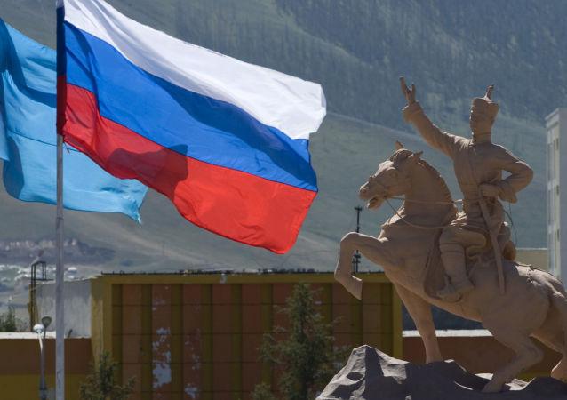 Náměstí Suche v Ulánbátaru