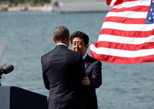 Šinzó Abe a Barack Obama