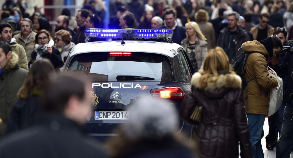 Policie v Madridu