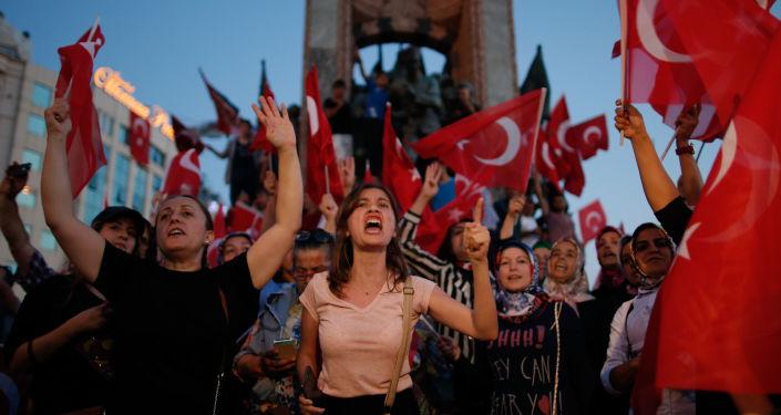 Akce protestu v Istanbulu