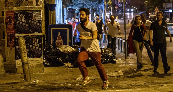 Protesty na Taksimském náměstí