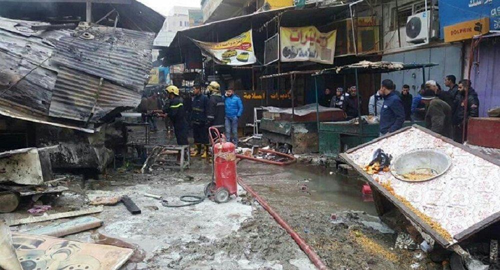 Výbuch v Bagdádu
