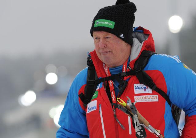 Bývalý trenér ruského ženského národního týmu biatlonistek Wolfgang Pichler