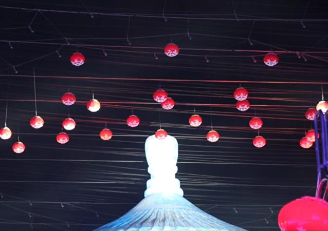 V Charbinu na severovýchodě Číny začal festival ledu a sněhu