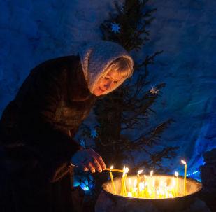 Oslavy Vánoc v Rusku
