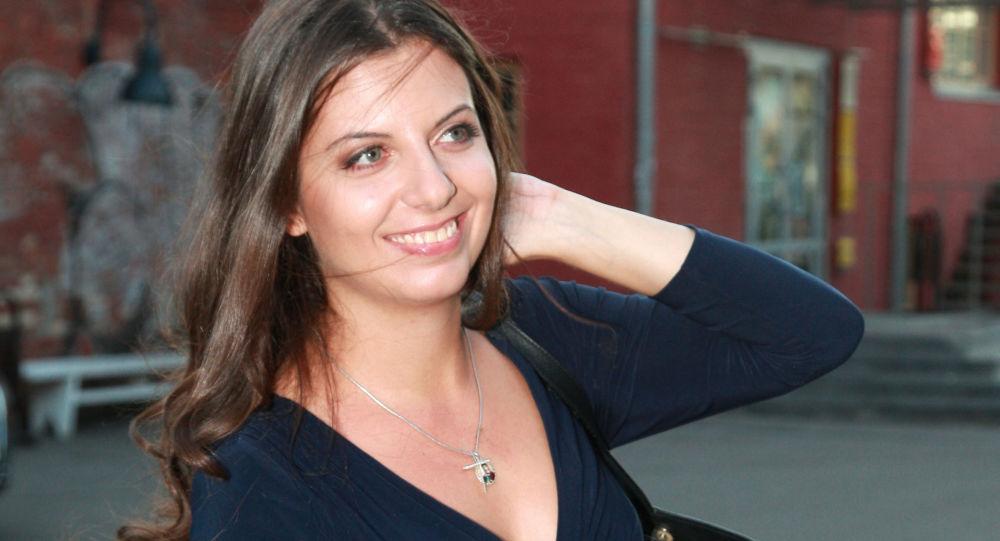 Šéfredaktorka mezinárodní informační agentury (MIA) Rossia Segodnia Margarita Simonjanová