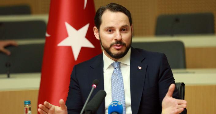 Turecký ministr financí Berat Albayrak