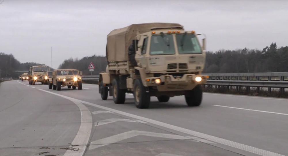 Američané přesunují rekordní množství vojenské techniky z Německa do Polska