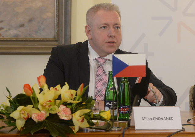 Bývalý ministr vnitra Milan Chovanec