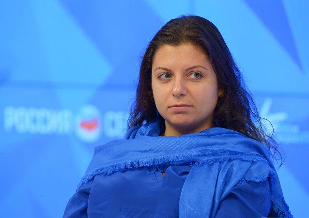 Šéfredaktorka RT Margarita Simoňanová