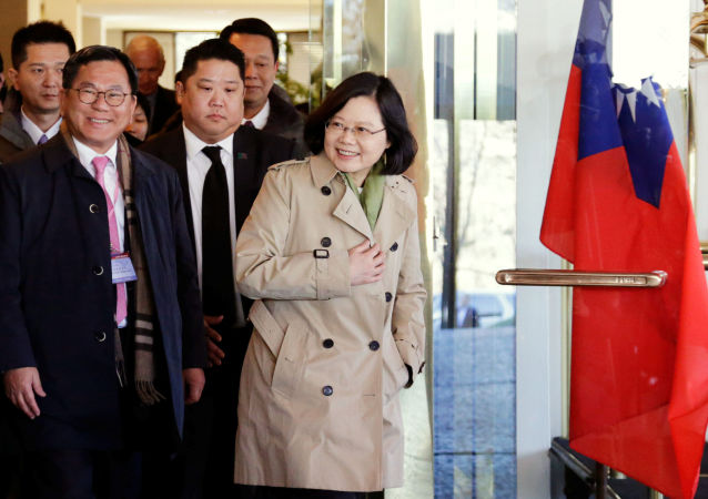 Šéf administrativy Tchaj-wanu Chaj Jing-wen