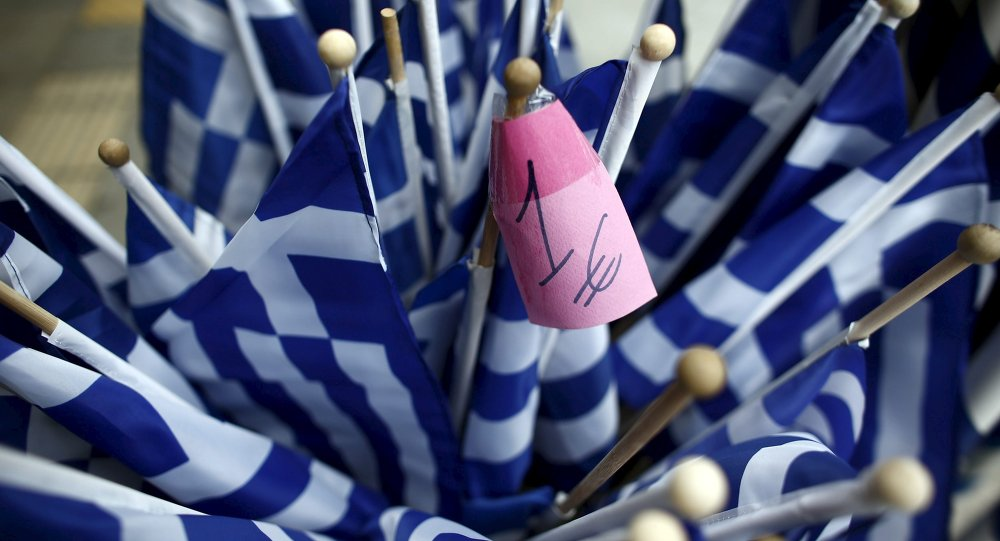 Řecké vlajky