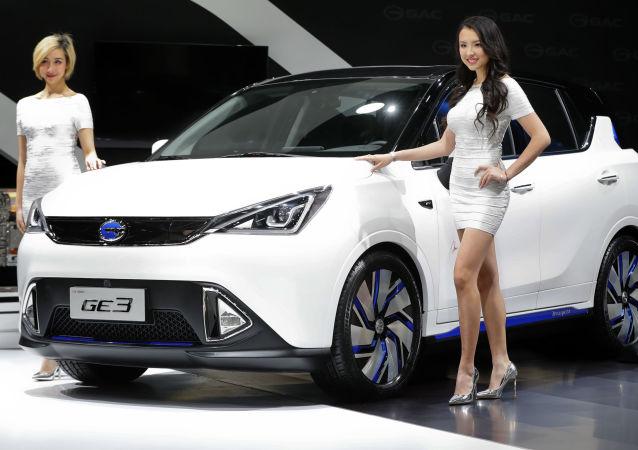 Elektromobil GAC Motors GE3. Ilustrační foto
