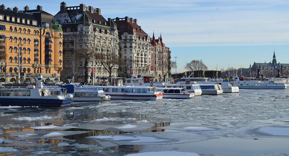 Stockholm, Švédsko. Ilustrační foto
