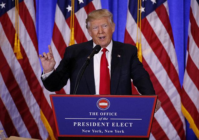 Zvolený americký prezident Donald Trump