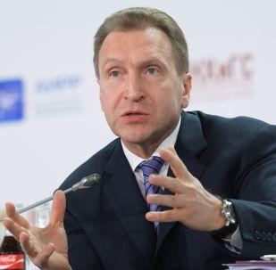 První vicepremiér ruské vlády Igor Šuvalov