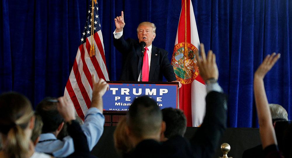 Zvolený prezident USA Donald Trump