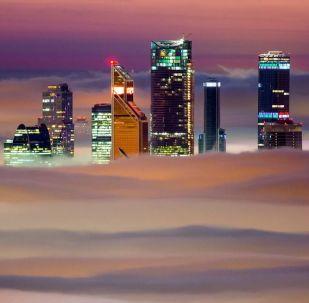 Moskva z ptačí perspektivy