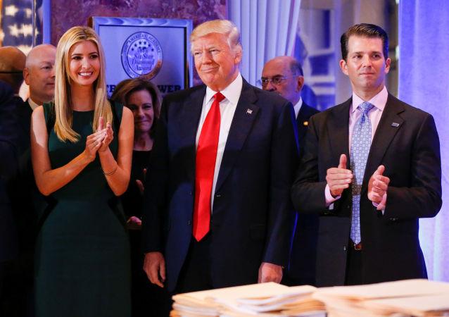 Donald Trump a jeho rodina