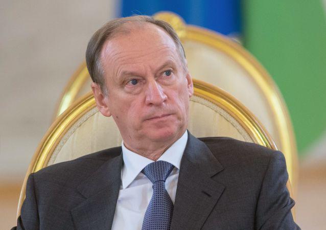 Tajemník Rady bezpečnosti Ruska Nikolaj Patrušev