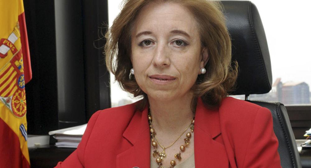 Španělská státní tajemnice pro obchod Maria Luisa Poncela