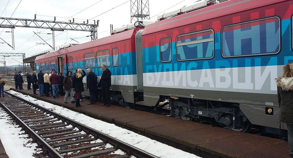 Srbský osobní vlak