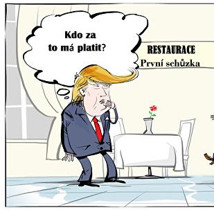 Trump – rande se starou herkou