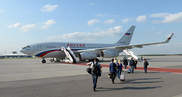 Il-96-300 ruského prezidenta
