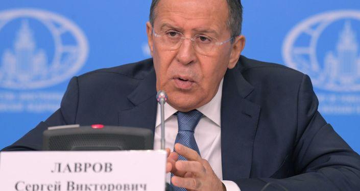 Ministr zahraničních věcí RF Sergej Lavrov