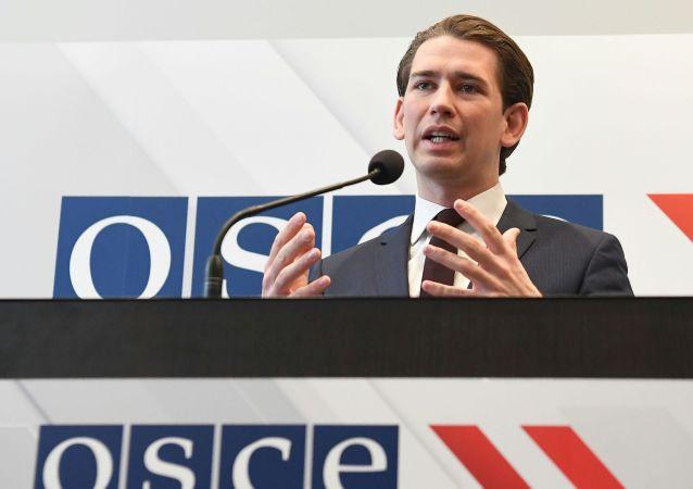 Předseda OBSE, Rakouský ministr zahraničních věcí Sebastian Kurz
