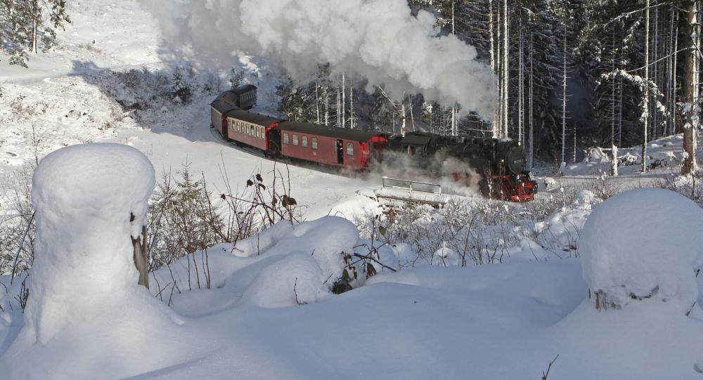 Vlak v Německu