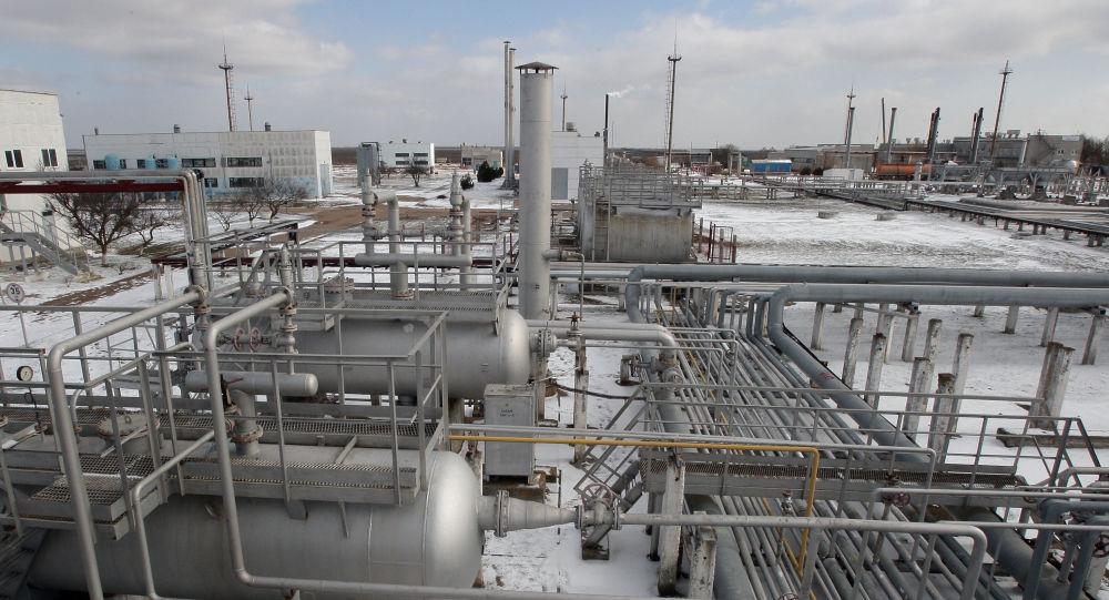 Plynové úložiště na Krymu