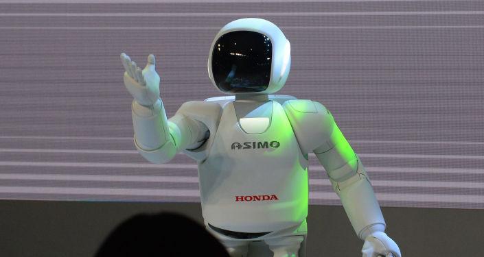 Robot Asimo společnosti Honda