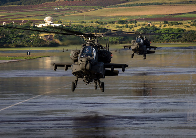 Americký vrtullník AH-64 Apache