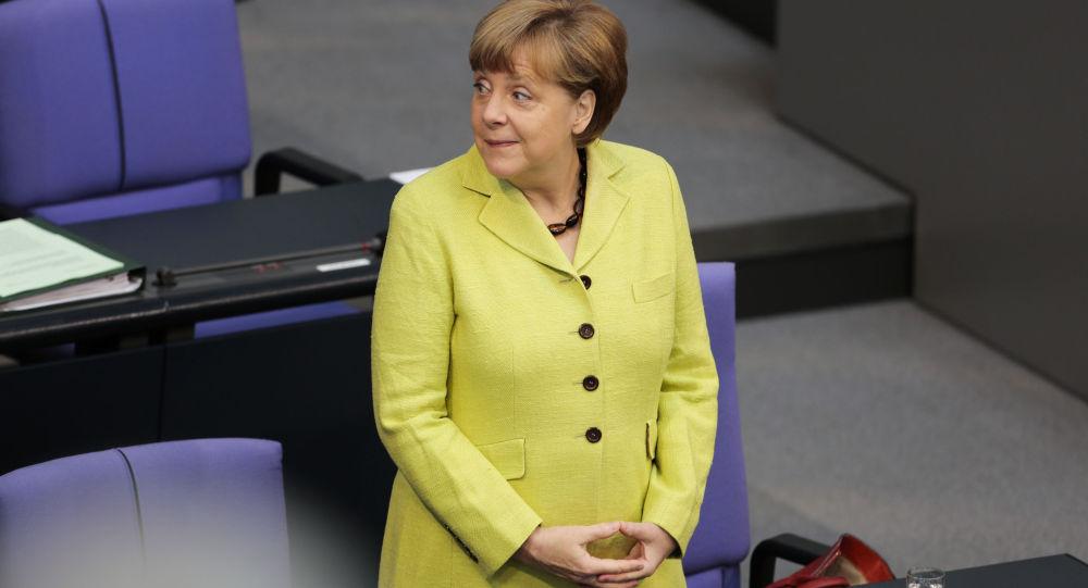 Kancléřka Spolkové republiky Německo Angela Merkelová.