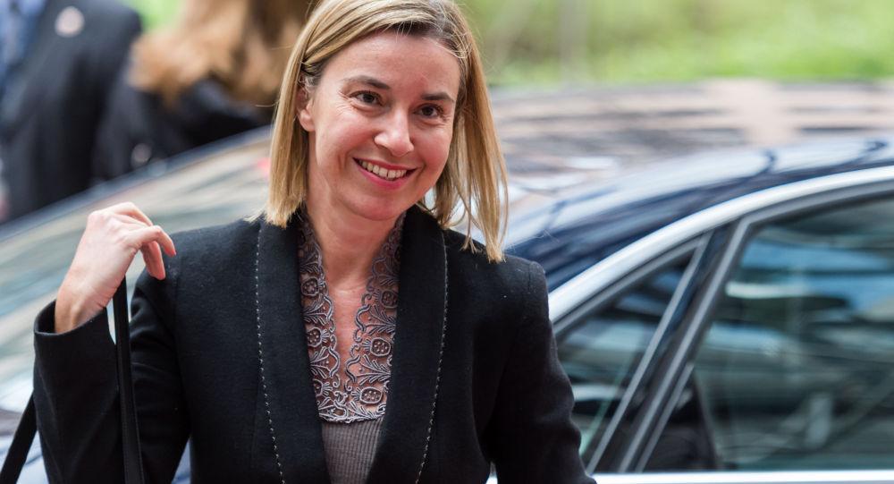 Federica Mogheriniová, šéfka evropské diplomacie.
