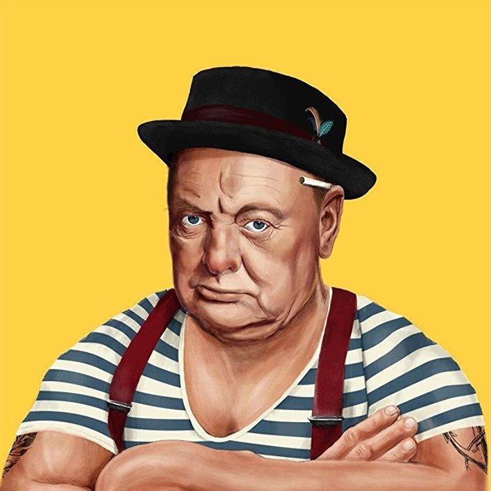 Bývalý britanský premiér Winston Churchill