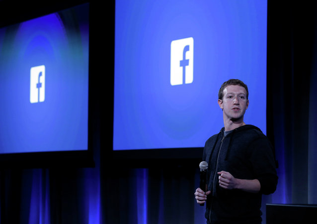 Zakladatel sociální sítě Facebook Mark Zuckerberg