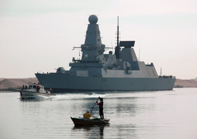 Torpédoborec HMS Diamond