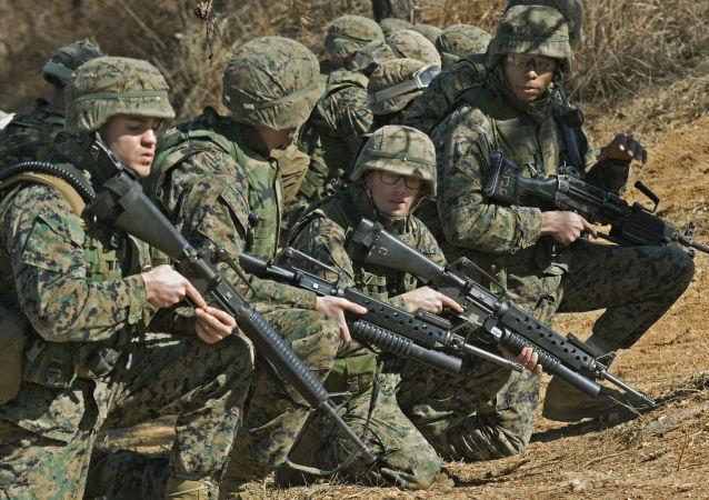 Pěchota USA