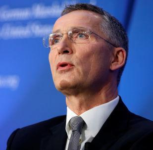 Generální tajemník Severoatlantické aliance Jens Stoltenberg