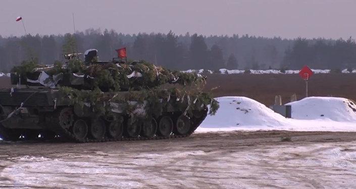 Cvíčení NATO v Polsku