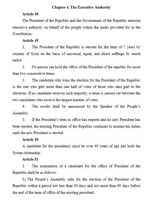 Návrh ústavy Sýrie