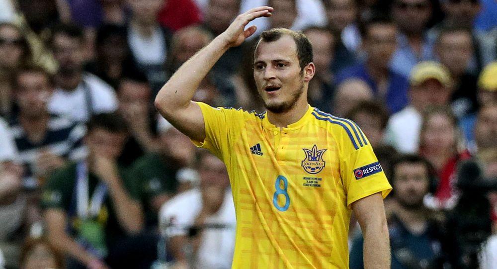 Ukrajinský fotbalista Roman Zozulja