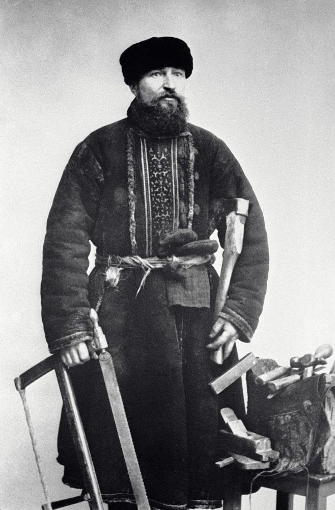 Moskevský truhlář, rok 1913