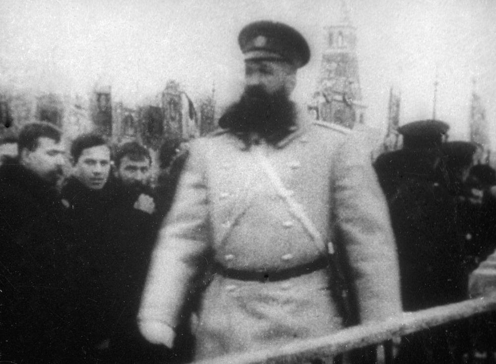 Moskevský policista, rok 1913
