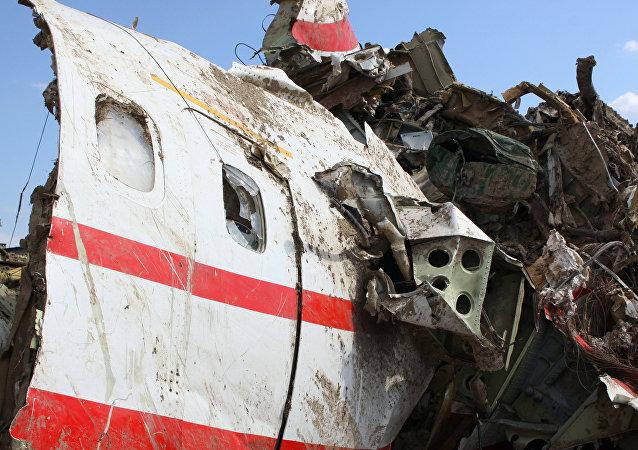 Trosky Tu-154