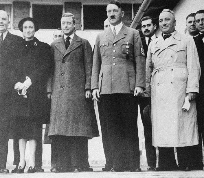 Návštěva Eduarda VIII. u Adolfa Hitlera, Německo, 1937