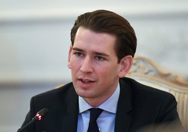 Předseda rakouských lidovců Sebastian Kurz
